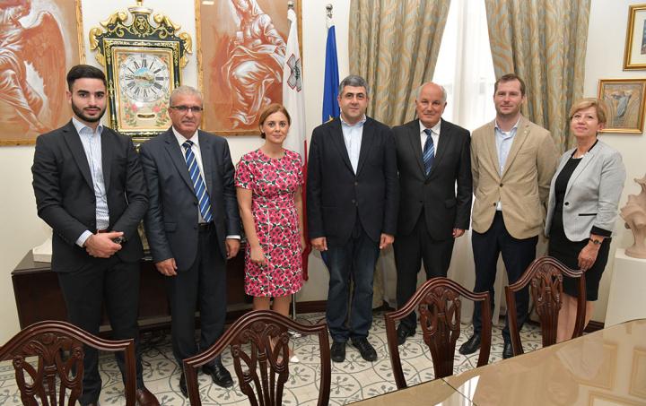 Visit to Gozo by UNWTO Secretary General Zurab Pololikashvili