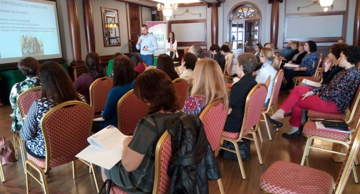 Gozo workshops for parents of children with disability a great success