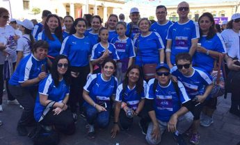 CBM staff and family take part in the President's Solidarity Fun Run