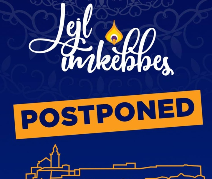 Saturday's Lejl Imkebbes - Festival of Light postponed because of weather
