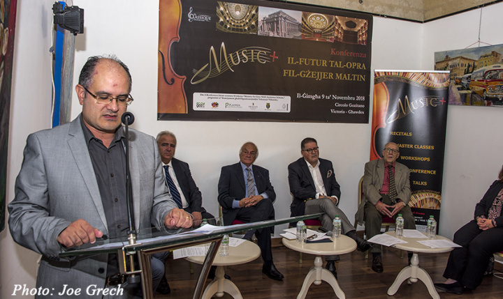 Gozo conference discusses the future of opera in the Maltese Islands
