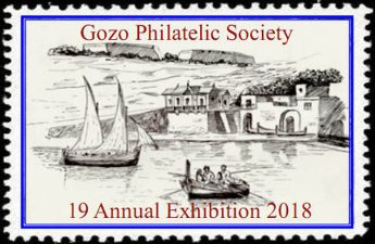 19th annual Gozo Philatelic Exhibition opens this evening in Victoria