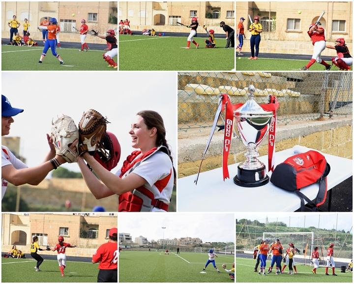 Gozo Cup International Softball Tournament held at Gharb