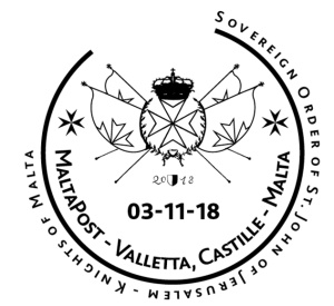 First Congress in Malta of the Sovereign Order - Hand stamp