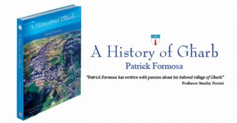 A History of Gharb by Patrick Formosa - Book launch next Saturday in Gozo