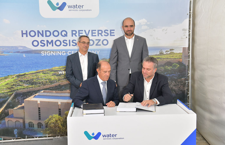 Contract signed for reverse osmosis in Hondoq, work to start shortly