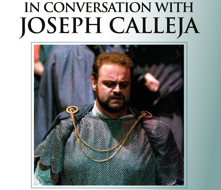 In conversation with Joseph Calleja at Il-Hagar Museum, Gozo