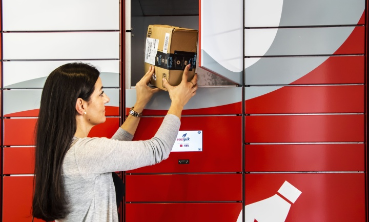 Free of charge Easipik locker service offered by MaltaPost