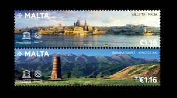 MaltaPost releasing joint stamp issue with Kyrgyzstan
