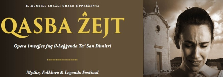 Qasba Zejt - Gharb open-air opera based on the legend of St Dimitri