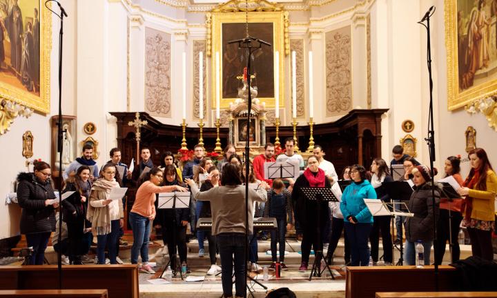 New Christmas album by Schola Cantorum Jubilate - Christmasghanja