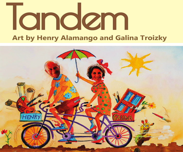 Tandem: Galina Troizky and Henry Alamango in Gozo exhibition