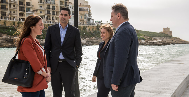 Xlendi quay rebuilding works completed at a cost of €180,000