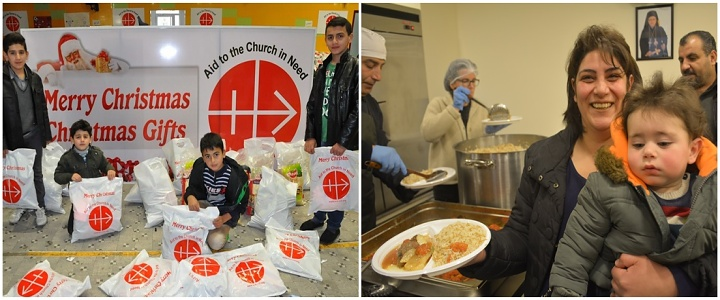 Share your Christmas meal with a Christian refugee family -ACN