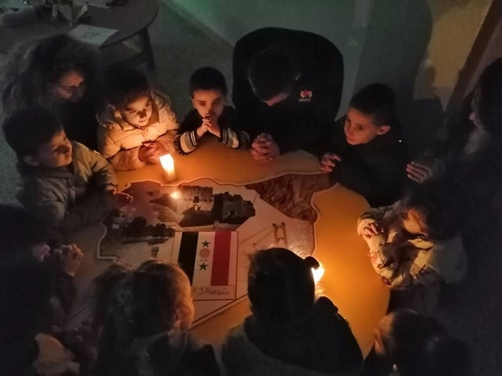 Candles for Peace in Syria - ACN appeal to help children in Syria