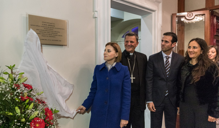 Casa Amalia home for the elderly inaugurated in Victoria, Gozo