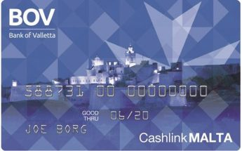 Bank of Valletta rebranding Cashlink card to CashlinkMALTA