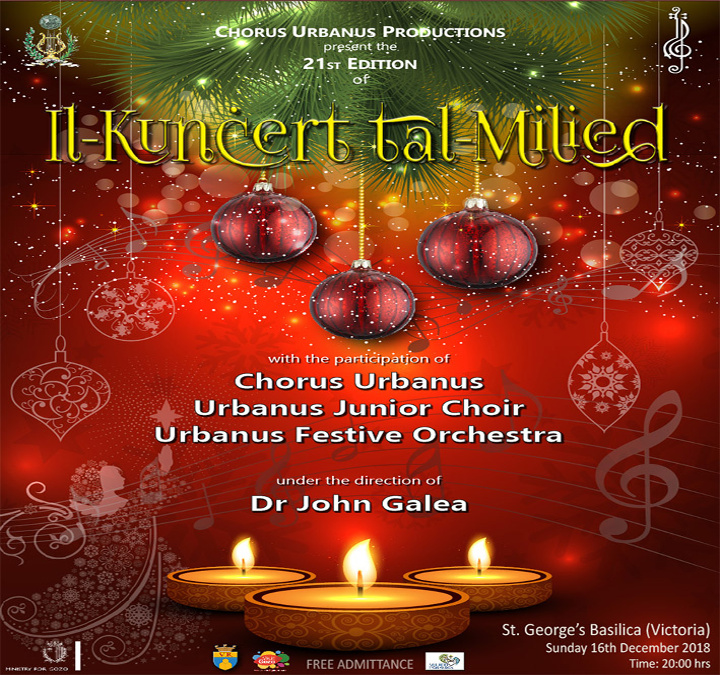 Chorus Urbanus presents the 21st edition of their Christmas Concert