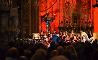 Xaghra Basilica was the setting for a Christmas Concert - Puer Natus Est