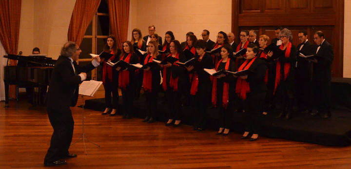 A New Year's Toast with the Gaulitanus Choir in concert