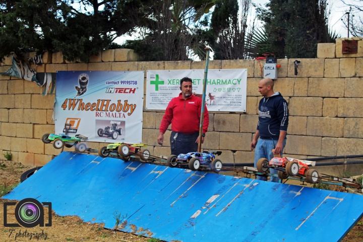 Gozo Model Car Association Championship first round held on Saturday