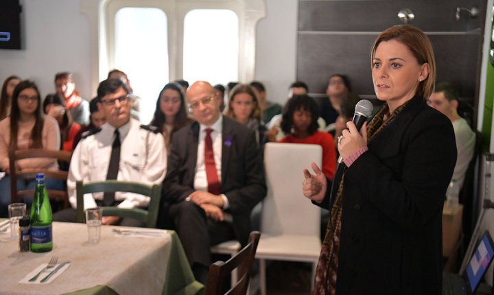 Gozo Minister attends conference on domestic violence in our society