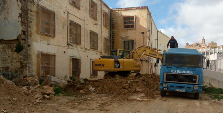 Ongoing works at the Gozo Museum moving at a fast pace