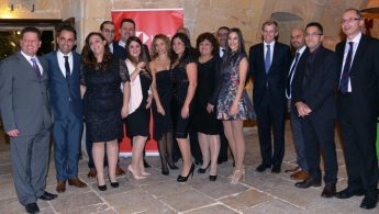 HSBC Bank Gozo Christmas party for customers and staff