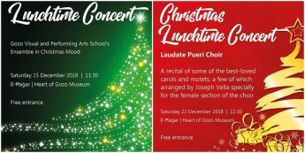 Christmas mini-concerts at Il-Hagar Museum for the festive season