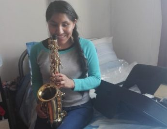 A plea granted and Maruja now has her saxophone - Anthony Zammit
