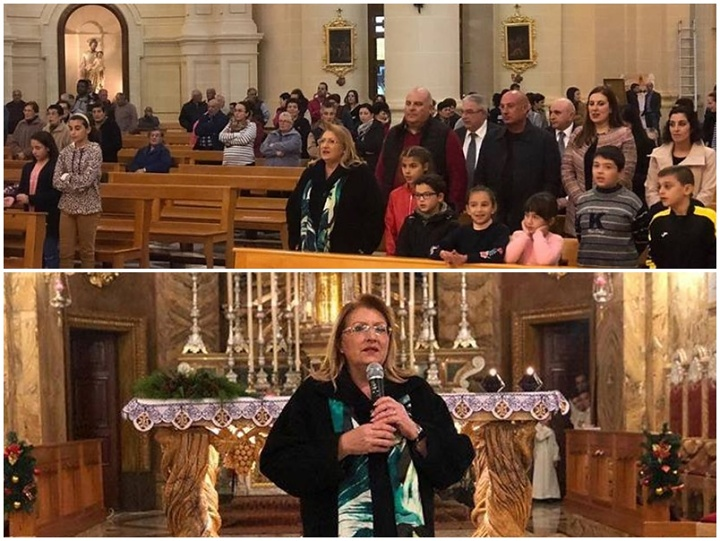 President Marie-Louise visiting Gozo villages for Istrina 2018