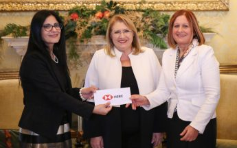 €18,000 presented to President's Trust to help vulnerable youngsters