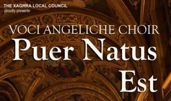 Puer Natus Est - Christmas Concert at the Xaghra Basilica on Friday