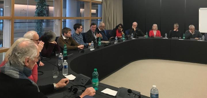 MEP Sant and UK Labour Party activists exchange views on Brexit