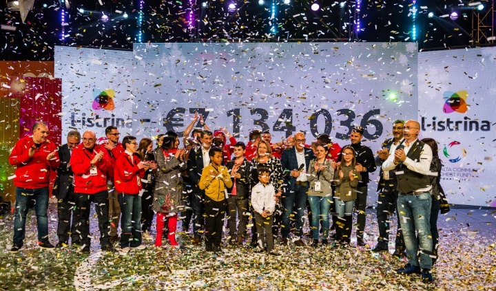 €7, 134,036 raised during l-Istrina 2018 12-hour telethon - a new record