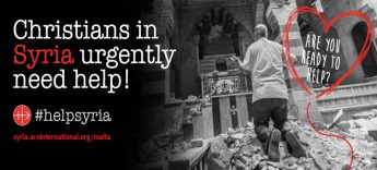 ACN Malta campaign to provide emergency aid packages for Syria