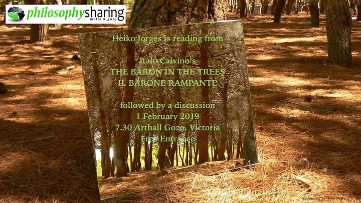 Listen to a reading from The Baron in the Trees with Heiko Jörges