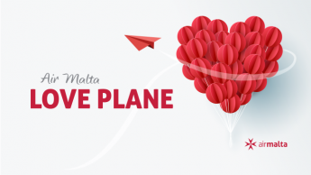 Air Malta's Love Flight back is off to Catania for Valentine's Day