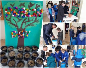 Arbor Day celebrated by the Friendly School of San Lawrenz