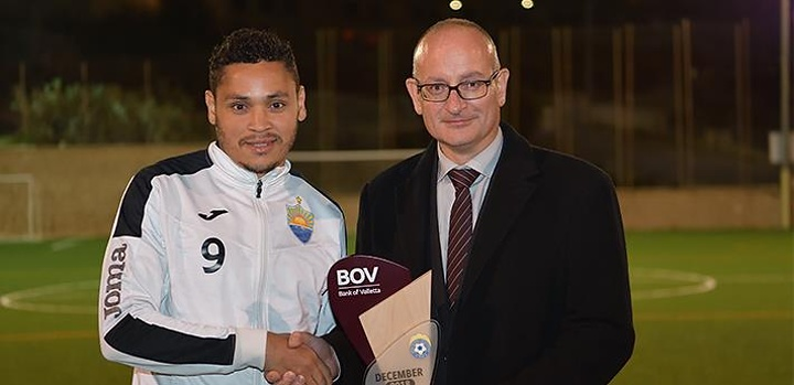 Marcelo Barbosa is the BOV GFA Player of the Month for December