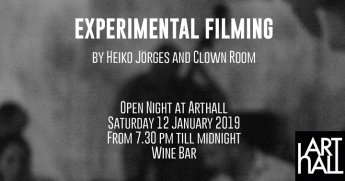 Experimental Filming: Experimental films of Heiko Jörges at ArtHall