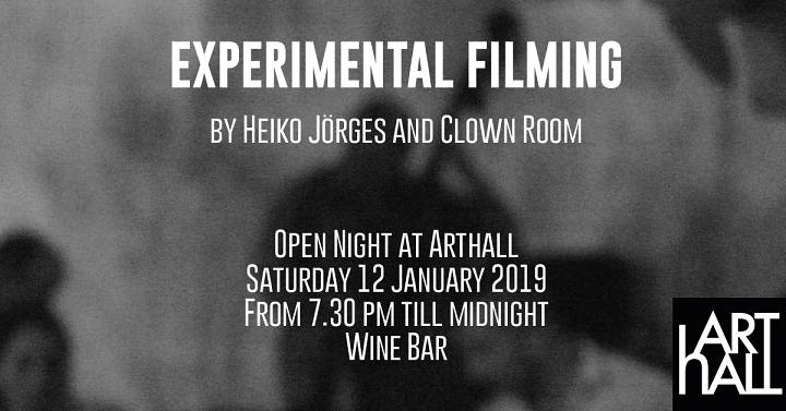 Open Night at ArtHall in Gozo with Experimental Filming and much more