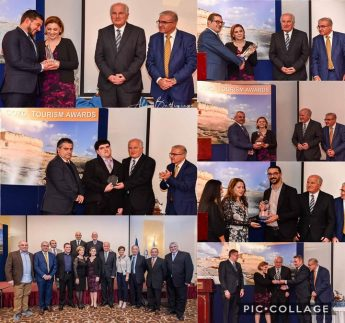 Mario Schembri wins Gozo Tourism Worker of the Year Award 2018
