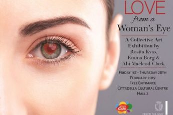 Love from a Woman's Eye - Gozo exhibition for Valentine's
