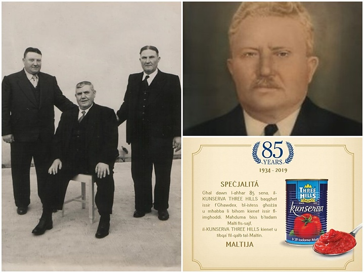 Magro celebrates 85 years of the iconic Three Hills Brand Kunserva