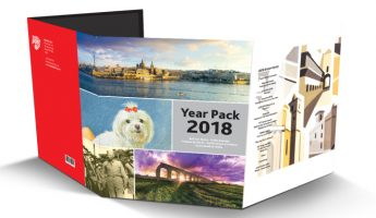 MaltaPost to launch Year Pack with all 2018 stamp sets