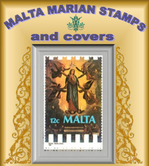 Malta Marian Stamps exhibition at Il-Hagar Museum in Gozo