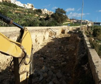 Works to rebuild Mgarr Road are ongoing as planned - Ministry