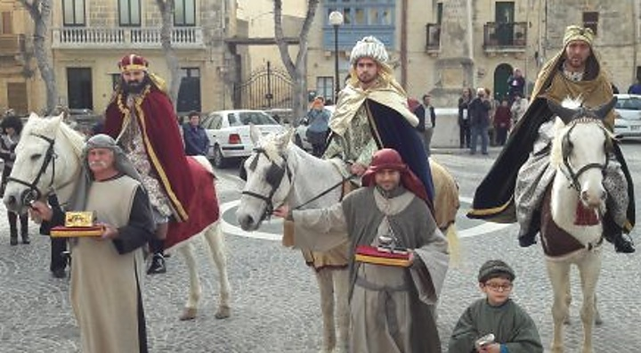 Triumphal arrival of the Three Kings this Sunday in Qala Square