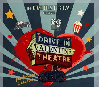 Enjoy a Drive-in Valentine Theatre in Gozo, films for families and couples